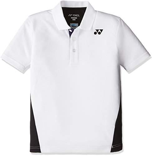 Yonex (ヨネックス) - (ヨネックス)YONEX テニス・バトミントンウェア ポロシャツ 10167J [ジュニア] 10167J 011 ホワイト J130